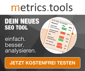 Metrics Tools SEO Analyse